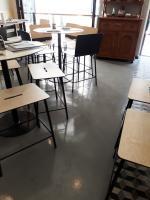 műgyanta padló készítés étterembe